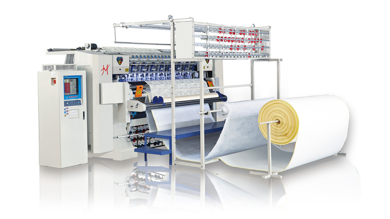 HY-W-BSJ Computerized Chain Stitch Multi-needle Quilting Machine