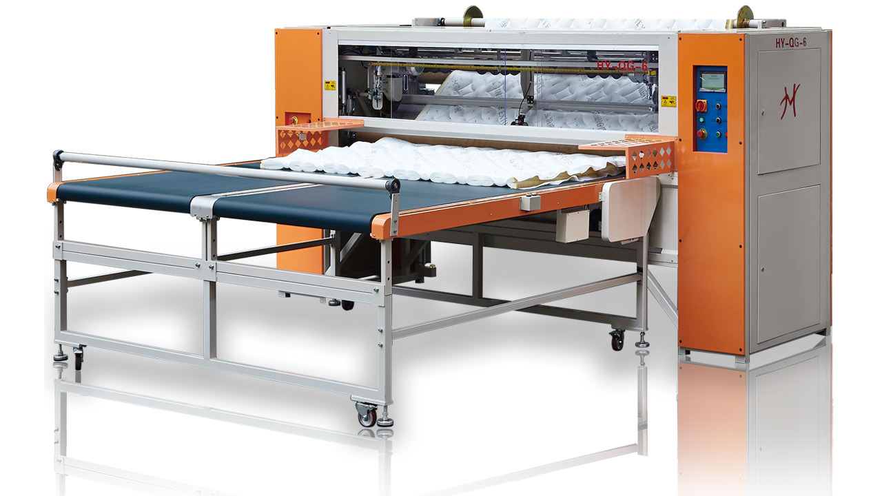 HY-QG-6, HY-QG-6L Computerized Panel Cutter Machine